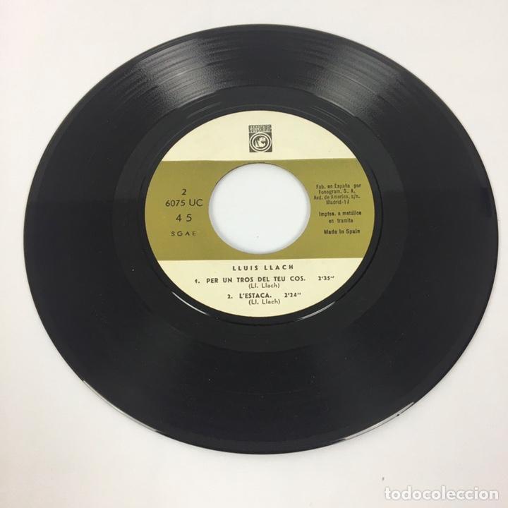 """Discos de vinilo: EP 7"""" - LLUÍS LLACH - L'Estaca (1968) - Foto 6 - 210067426"""