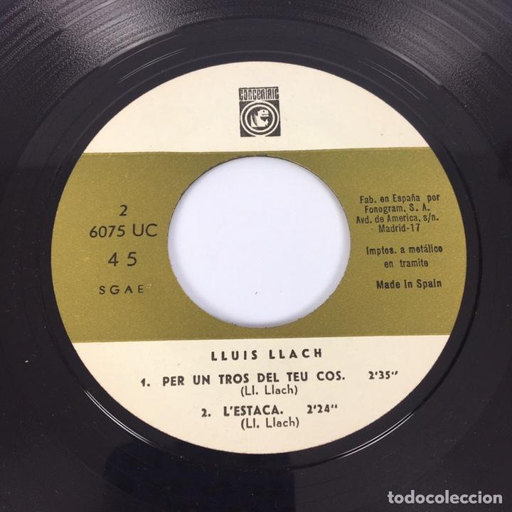 """Discos de vinilo: EP 7"""" - LLUÍS LLACH - L'Estaca (1968) - Foto 7 - 210067426"""