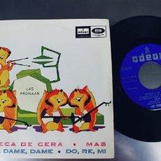 Discos de vinilo: LAS ARDILLAS-EP MUÑECA DE CERA +3. Lote 210068238