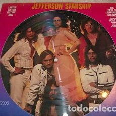 Discos de vinilo: JEFFERSON STARSHIP LP RARO PICTUTRE DISC (ATENCION COMPRA MINIMA 15 EURSOS). Lote 210069385