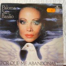 Discos de vinilo: PALOMA SAN BASILIO. Lote 210073987