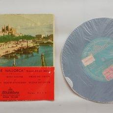 Discos de vinilo: GRUPO BALLS DE MALLORCA - AÑOS 50/60 - DISCO EP ALHAMBRA - FOLCLORE DE MALLORCA - DIR. RAFAEL JORDA. Lote 210081540