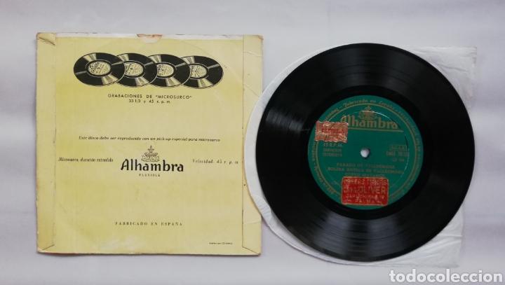 Discos de vinilo: GRUPO BALLS DE MALLORCA - AÑOS 50/60 - DISCO EP ALHAMBRA - FOLCLORE DE MALLORCA - DIR. RAFAEL JORDA - Foto 2 - 210081540
