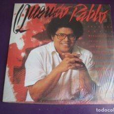 Discos de vinilo: PABLO MILANÉS - QUERIDO PABLO DOBLE LP ARIOLA 1985 - ANA BELEN - AUTE - SILVIO RODRIGUEZ - SERRAT. Lote 271171163