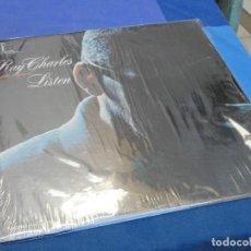 Discos de vinil: LP RAY CHARLES INVITES YOU TO LISTEN ORIGINAL USA DE LOS 60 Y EN MUY BUEN ESTADO. Lote 210087315