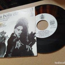 Disques de vinyle: LA BOLA DE CRSITAL - ALASKA Y DINARAMA / ESCLAVA DEL MAL - LOQUILLO / VA POR LA CIUDAD (SINGLE PROMO. Lote 210087890