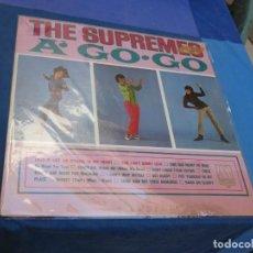 Discos de vinil: LP FUNK SOUL USA CIRCA 1966 SUPREMES A GO GO PRECIOSO Y ESTADO CORRECTO DE VINILO. Lote 210087976