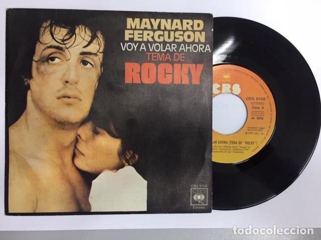 MAYNARD FERGUSON - BSO ROCKY (SINGLE) (Música - Discos - Singles Vinilo - Bandas Sonoras y Actores)