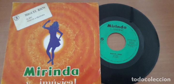 Discos de vinilo: 14-00091 - MIGUEL RIOS -SINGLE MIRINDA MIGUEL RIOS- EL RIO-VUELVO A GRANADA - Foto 3 - 210088515