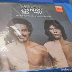 Discos de vinil: LP FUNK SOUL USA 1977 BROTHER TO BROTHER SHADES IN CREATION TURBO RECORDS BUEN ESTADO. Lote 210088895