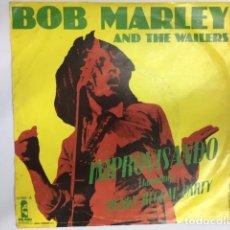Discos de vinilo: BOB MARLEY & THE WAILERS - JAMMING/PUNKY REGGAE PARTY(SINGLE). Lote 210089618