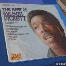 Discos de vinil: LP ORIGINAL USA 1968 BEST OF WILSON PICKETT ESTADO MUY CORRECTO LABEL ATLANTIC AZUL Y VERDE. Lote 210091070