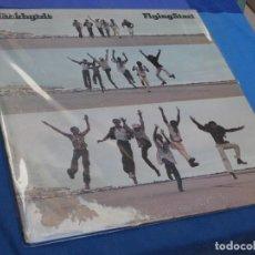 Discos de vinil: LP USA 1974 THE BLACKBYRDS FLYING START PORTADA CON CIERTOS DAÑOS VINILO CON CIERTO USO PERO DECENTE. Lote 210091240