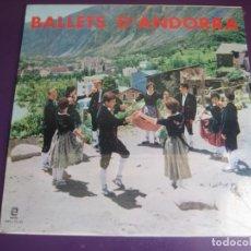Discos de vinilo: COBLA MARAVELLA + LUIS FERRER – BALLETS D'ANDORRA LP ZAFIRO PRECINTADO - FOLK CATALUÑA - SARDANAS. Lote 210094863
