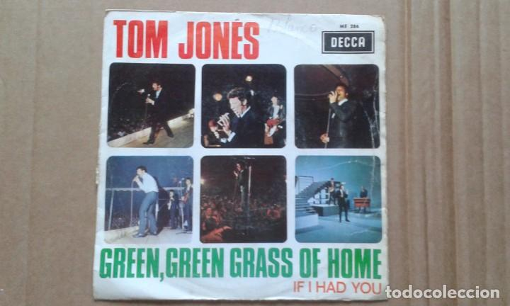 TOM JONES - GREEN GREEN GRASS OF HOME SINGLE 1968 EDICION ESPAÑOLA (Música - Discos - Singles Vinilo - Pop - Rock - Extranjero de los 70)