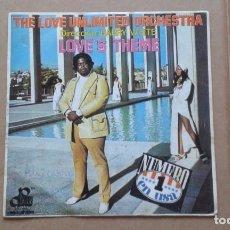 Discos de vinil: BARRY WHITE - THE LOVE UNLIMITED ORCHESTRA SINGLE 1974 EDICION ESPAÑOLA. Lote 210096890