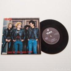 "Discos de vinilo: G.B.H. GIVE ME FIRE/ MAN-TRAP. 7"". 1982. Lote 210098356"