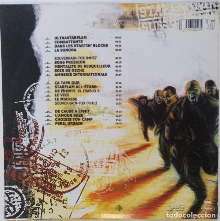 """Discos de vinilo: STARFLAM - SURVIVANT [BELGICA HIP HOP / RAP] [EDICIÓN ORIGINAL LIMITADA 2LP 12"""" 33RPM][2001] - Foto 2 - 284648968"""