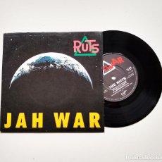 "Discos de vinilo: RUTS. JAH WAR/I AIN'T SOFISTICATED. 7"". Lote 210100703"