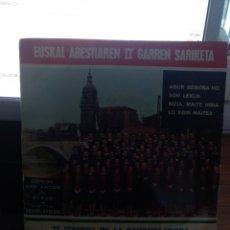 Discos de vinilo: II FESTIVAL DE LA CANCIÓN VASCA CINSA BILBAO 1966. Lote 210109338