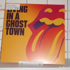 "Discos de vinilo: THE ROLLING STONES LIVING IN A GHOST TOWN (SIDED 10"" ORANGE COLOURED VINYL) [VINILO] ENVIO 2 EUROS. Lote 210109342"