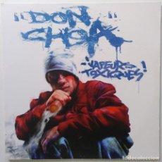 """Discos de vinilo: DON CHOA - VAPEURS TOXIQUES [FRANCIA HIP HOP / RAP] [EDICIÓN ORIGINAL LIMITADA 2LP 12"""" 33RPM][2002]. Lote 210110055"""
