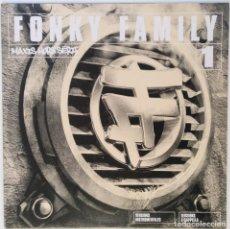 """Discos de vinilo: FONKY FAMILY - MAXIS HORS SERIE 1 [FRANCIA HIP HOP / RAP] [EDICIÓN ORIGINAL MX 12"""" 33RPM][2001]. Lote 210111165"""