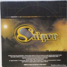 "Discos de vinilo: SNIPER - DU RIRE AUX LARMES [FRANCIA HIP HOP / RAP] [EDICIÓN ORIGINAL MX 12"" 33RPM][2000]. Lote 210111508"