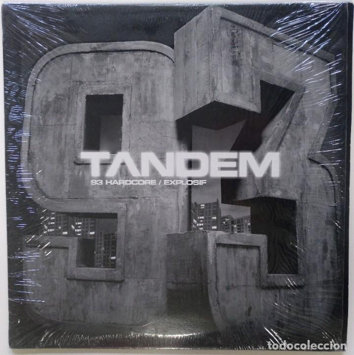"TANDEM - 93 HARDCORE / EXPLOSIF [FRANCIA HIP HOP / RAP] [EDICIÓN ORIGINAL MX 12"" 33RPM] [[2005]] (Música - Discos de Vinilo - Maxi Singles - Rap / Hip Hop)"