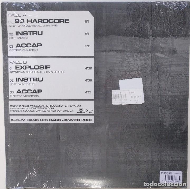 """Discos de vinilo: TANDEM - 93 HARDCORE / EXPLOSIF [FRANCIA HIP HOP / RAP] [EDICIÓN ORIGINAL MX 12"""" 33RPM] [[2005]] - Foto 2 - 210113492"""