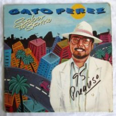 Discos de vinilo: DOBLE LP VINILO GATO PÉREZ, SABOR DE BARRIO 1991. Lote 210114433