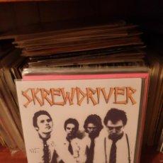 Discos de vinilo: SKREWDRIVER / STREETFIGHT / NOT ON LABEL. Lote 210115060