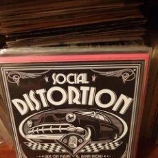 Discos de vinilo: SOCIAL DISTORTION / MACHINE GUN MELODIES / TRM 2017. Lote 210115505