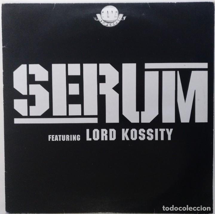 "SERUM FT. LORD KOSSITY - ON FAIT [FRANCIA HIP HOP / RAP] [EDICIÓN ORIGINAL MX 12"" 33RPM] [[2002]] (Música - Discos de Vinilo - Maxi Singles - Rap / Hip Hop)"