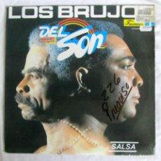 Discos de vinilo: LP VINILO LOS BRUJOS DEL SON 1990 SALSA. Lote 210116687