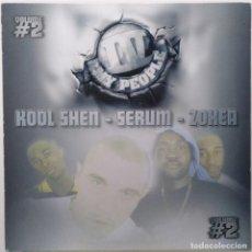 """Discos de vinilo: IV MY PEOPLE - KOOL SHEN - SERUM - ZOXEA [FRANCIA HIP HOP / RAP] [EDICIÓN MX 12"""" 33RPM] [[1999]]. Lote 210116842"""