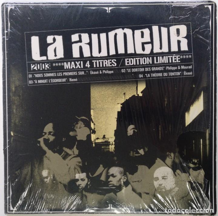 """LA RUMEUR - NOUS SOMMES LES PREMIERS SUR... [FRANCIA HIP HOP / RAP] [EDICIÓN MX 12"""" 33RPM] [[2003]] (Música - Discos de Vinilo - Maxi Singles - Rap / Hip Hop)"""