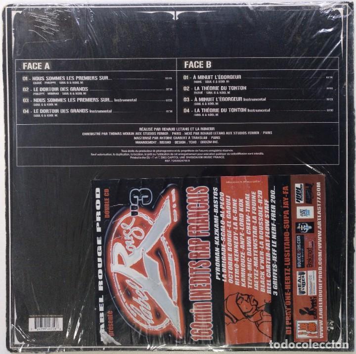 """Discos de vinilo: LA RUMEUR - NOUS SOMMES LES PREMIERS SUR... [FRANCIA HIP HOP / RAP] [EDICIÓN MX 12"""" 33RPM] [[2003]] - Foto 2 - 210117561"""