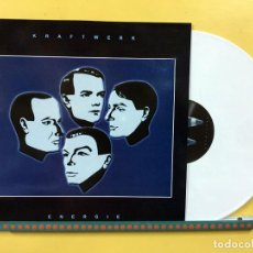 Discos de vinilo: KRAFTWERK LP ENERGIE VINILO COLOR BLANCO RAREZAS MUY RARO COLECCIONISTA. Lote 210117675
