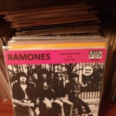 Discos de vinilo: RAMONES / CARBONA GLUE / NOT ON LABEL. Lote 210117792