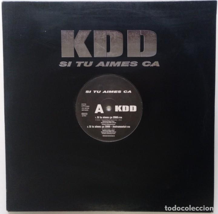 "KDD - SI TU AIMES CA [FRANCIA HIP HOP / RAP] [EDICIÓN ORIGINAL EXCLUSIVA MX 12"" 33RPM] [[2000]] (Música - Discos de Vinilo - Maxi Singles - Rap / Hip Hop)"