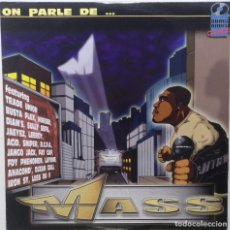 "Discos de vinilo: MASS - ON PARLE DE... [FRANCIA HIP HOP / RAP] [EDICIÓN ORIGINAL EXCLUSIVA MX 12"" 33RPM] [[2003]]. Lote 210118415"