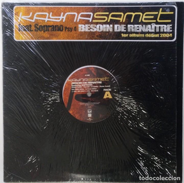 """KAYNA SAMET FT. SOPRANO (PSY4 RIME) [FRANCIA HIP HOP / FUNK] [EDICIÓN ORIGINAL MX 12"""" 33RPM] [2003]] (Música - Discos de Vinilo - Maxi Singles - Rap / Hip Hop)"""