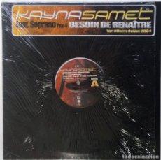 """Discos de vinilo: KAYNA SAMET FT. SOPRANO (PSY4 RIME) [FRANCIA HIP HOP / FUNK] [EDICIÓN ORIGINAL MX 12"""" 33RPM] [2003]]. Lote 210121832"""