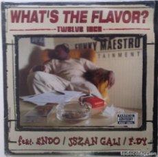 """Discos de vinilo: WHAT'S THE FLAVOR? - TWELVE INCH [FRANCIA HIP HOP / RAP] [EDICIÓN ORIGINAL MX 12"""" 33RPM] [2002]]. Lote 210122976"""