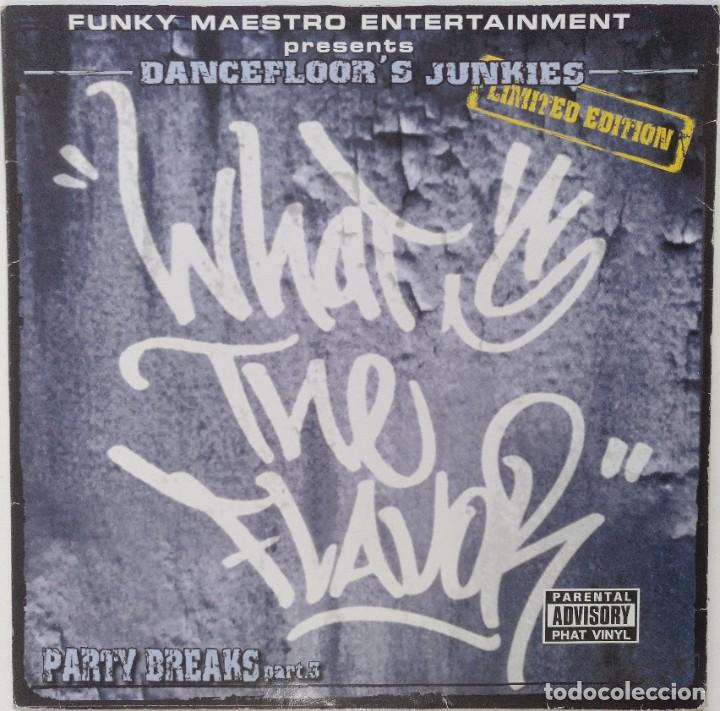 "WHAT'S THE FLAVOR? - PARTY BREAKS 3 [FRANCIA HIP HOP / RAP] [EDICIÓN ORIGINAL MX 12"" 33RPM] [2002]] (Música - Discos de Vinilo - Maxi Singles - Rap / Hip Hop)"