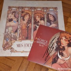 Dischi in vinile: MONICA NARANJO VINILO MES EXCENTRECITES VOL 2 + SINGLE HOY NO EXCLUSIVO LIMITADO FIRMADO. Lote 210125208