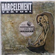 "Discos de vinilo: HARCELEMENT - TEXTUEL [FRANCIA HIP HOP / RAP] [EDICIÓN ORIGINAL EXCLUSIVA MX 12"" 33RPM] [2002]]. Lote 210125285"