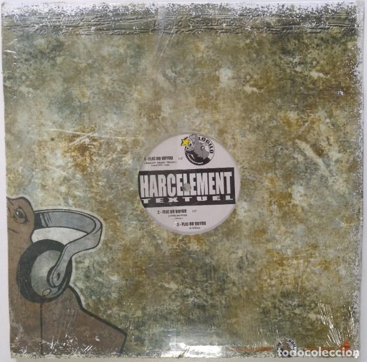 "Discos de vinilo: HARCELEMENT - TEXTUEL [FRANCIA HIP HOP / RAP] [EDICIÓN ORIGINAL EXCLUSIVA MX 12"" 33RPM] [2002]] - Foto 2 - 210125285"