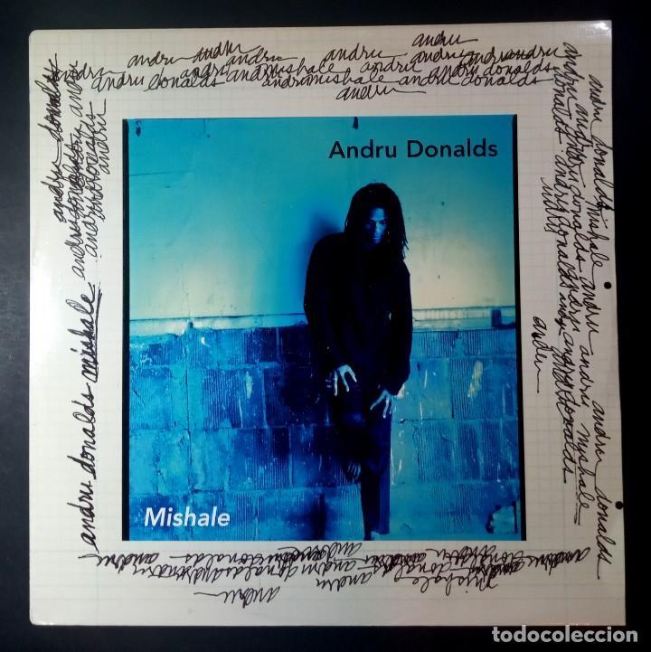 ANDRU DONALDS - MISHALE - MAXI UK 33 1995 - CAPITOL (Música - Discos de Vinilo - Maxi Singles - Reggae - Ska)